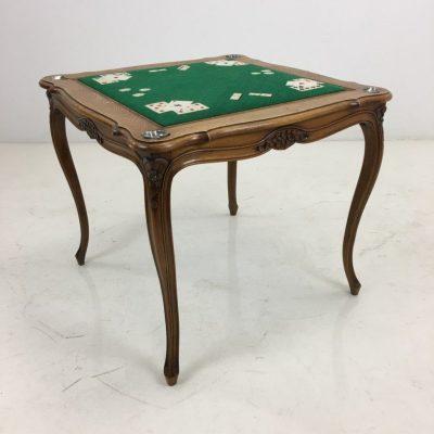 Карточный стол в стиле Ретро под заказ, Бельгия, середина 20 века
