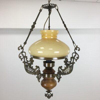 pakabinamas lubinis senovinis šviestuvas