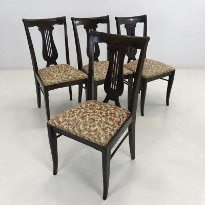 art deco stiliaus kėdės