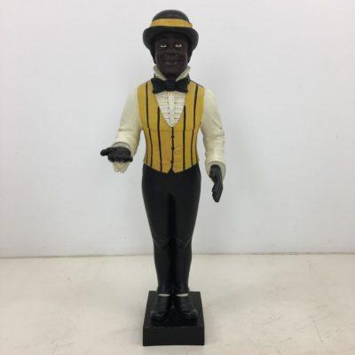 juodaodžio skulptūra