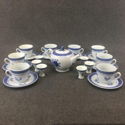 Чайный сервиз в стиле Винтаж Бельгия, середина 20 века