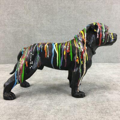 špižinė šuns skulptūra