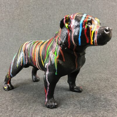 "Скульптура ""Собака"" в стиле Винтаж, Бельгия, середина 20 века"