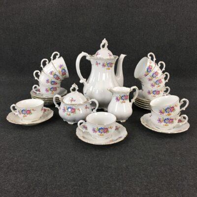 """Чайный сервиз """"Mitterteich Bavaria"""" в стиле Прованс, Голландия, середина 20 века"""