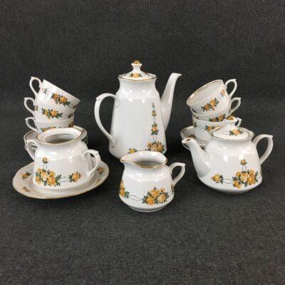 """Чайный сервиз """"RPR"""" в стиле Прованс, Голландия, середина 20 века"""