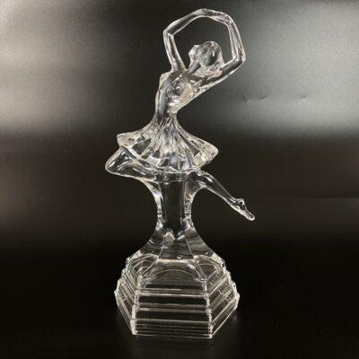 stiklinė balerinos skulptūra