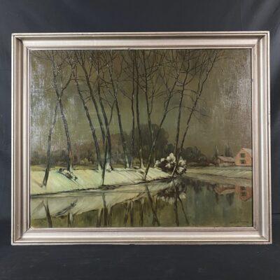 paveikslas su žemos ir medžių vaizdais