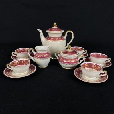 porcelianinis arbatos servizas Bavaria MItterteich