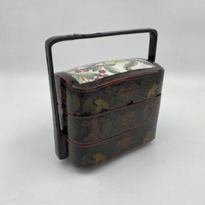 rytietiškas medinis krepšys