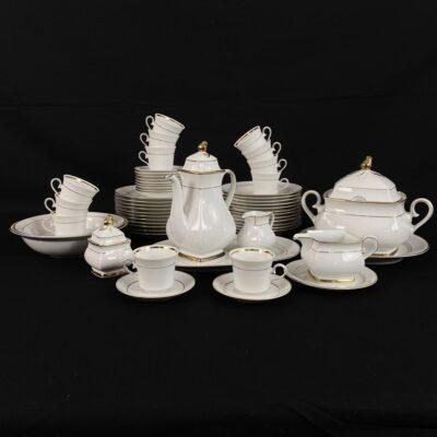 Marktleuthen Bavaria Winterling porcelianinis pietų servizas