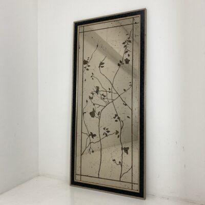 veidrodis su piešiniu