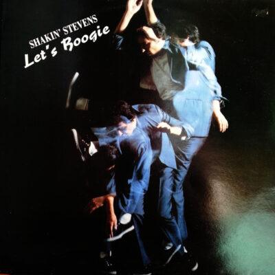 Shakin' Stevens naudota 1987metais išleista vinilinė plokštelė Let's Boogie