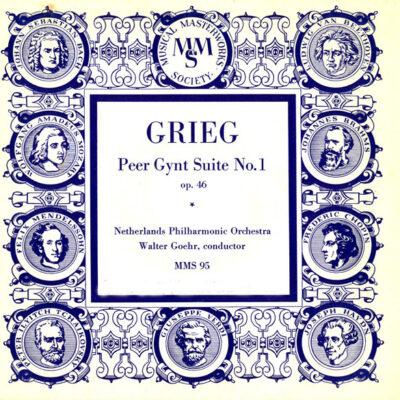 Grieg, Netherlands Philharmonic Orchestra, Walter Goehr - 1953 - Peer Gynt Suite No. 1 Op. 46