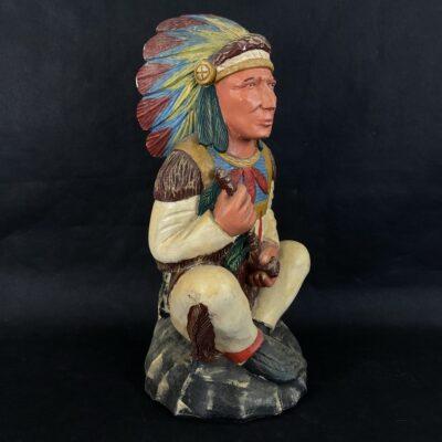 Medinė indėno skulptūra