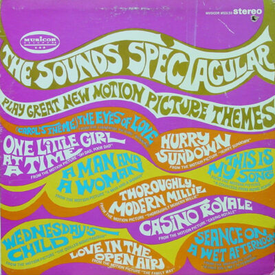 The Sounds Spectacular - 1967 - Play Great New Motion Picture Themes
