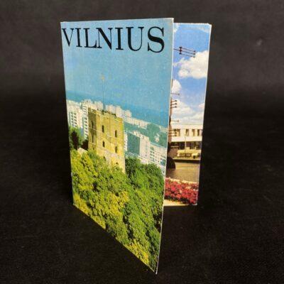 """Atviručių """"Vilnius"""" išleistų 1983 metais komplektas"""