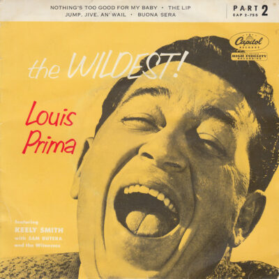 Louis Prima Featuring Keely Smith With Sam Butera And The Witnesses vinyl single