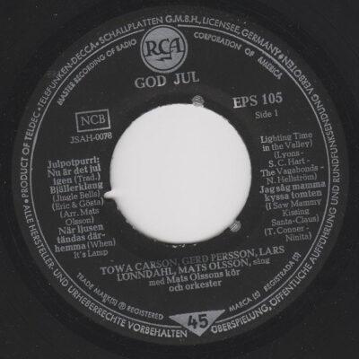 vinyl God Jul