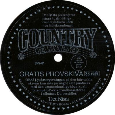 Unknown Artist - Det Bästa Presenterar Några Av De Härliga Countrylåtarna I Den Nya Musiksamlingen Country På Svenska