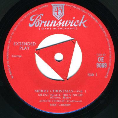 Bing Crosby vinyl Merry Christmas Vol.1