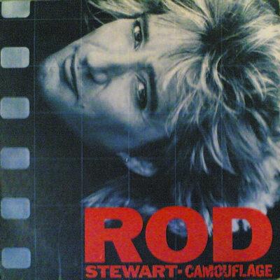 Rod Stewart vinilas Camouflage