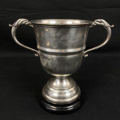 Metalinė vaza su ąselėmis