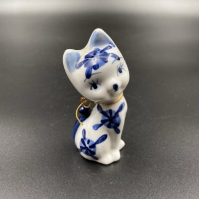 """Delft"" keramikos kačiuko skulptūra"