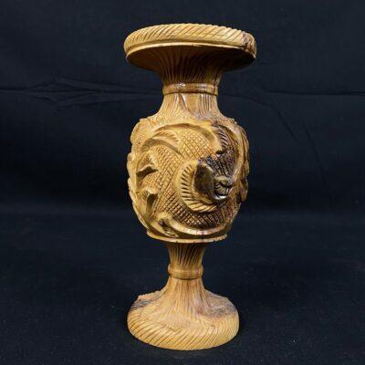 Medinė vaza