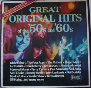 Various - Great Original Hits Of The '50s And '60s