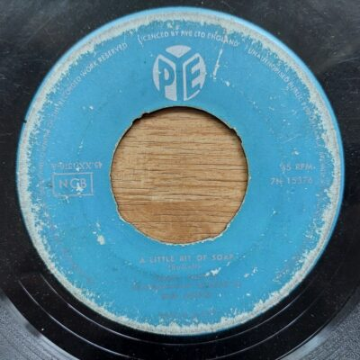 Jimmy Justice - 1961 - A Little Bit Of Soap / Little Lonely One (Sankta Lucia)