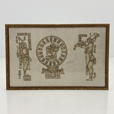 Majų kalendorių vaizduojantis paveikslas