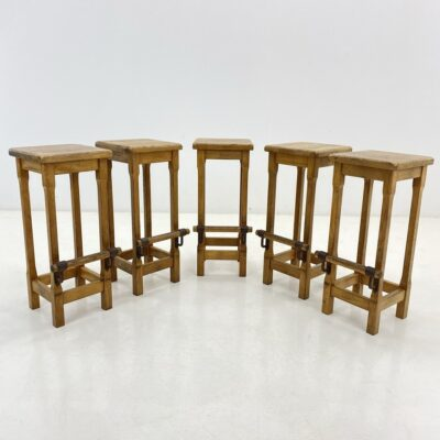 Ąžuolinės baro kėdės