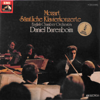 Mozart, English Chamber Orchestra, Daniel Barenboim - Sämtliche Klavierkonzerte