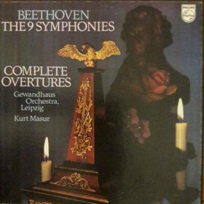 Beethoven - Gewandhausorchester Leipzig / Kurt Masur - 1975 - The 9 Symphonies - Complete Ouvertures