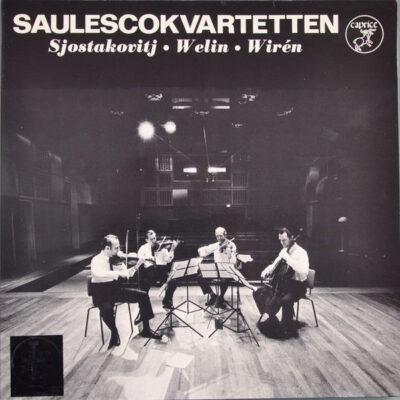 Saulescokvartetten, Sjostakovitj, Welin, Wiren - 1971 - Saulescokvartetten