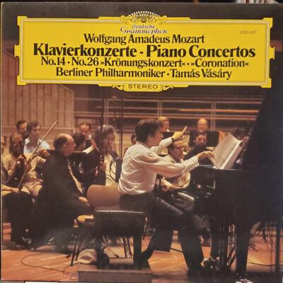 Mozart • Berliner Philharmoniker • Tamás Vásáry - 1979 - Klavierkonzerte Nr. 14 & 26 »Krönungskonzert«