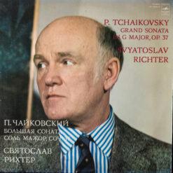 P. Tchaikovsky* - Svyatoslav Richter* - Grand Sonata In G Major, Op. 37