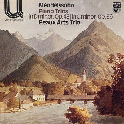 Mendelssohn - Beaux Arts Trio