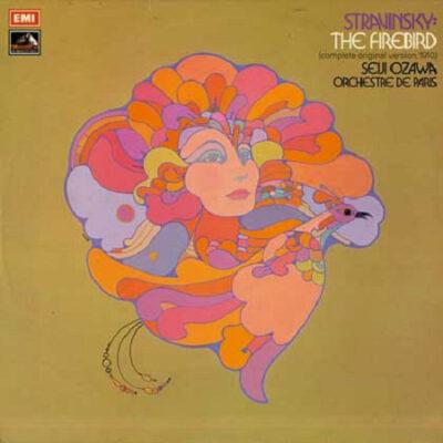 Stravinsky / Seiji Ozawa, Orchestre De Paris - 1973 - The Firebird