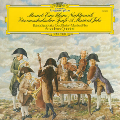 Mozart / Amadeus-Quartett - 1980 - Eine Kleine Nachtmusik / Ein Musikalischer Spass
