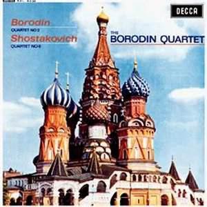 The Borodin Quartet - Borodin / Shostakovich - 1963 - String Quartet No. 2 In D / String Quartet No. 8 Op. 110