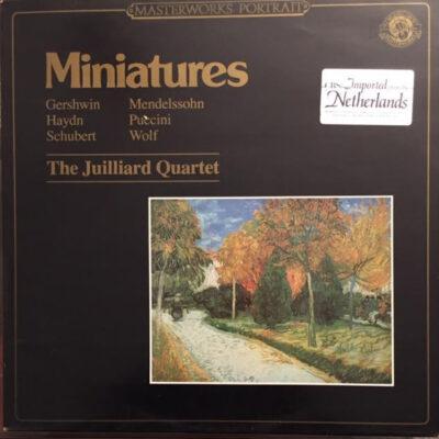 Juilliard String Quartet - 1984 - Miniatures