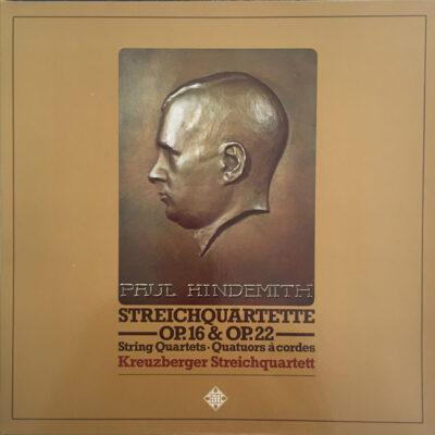 Hindemith, Kreuzberger Streichquartett - 1976 - Streichquartette Op.16 & Op.22