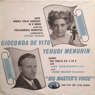 Double Violin Concerto In D Minor / Trio Sonata No. 2 In D