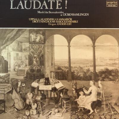 Uppsala Akademiska Kammarkör, Drottningholms Barockensemble, Anders Eby
