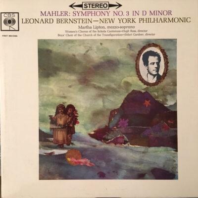 Mahler, Leonard Bernstein - New York Philharmonic - 1962 - Symphony No. 3 In D Minor