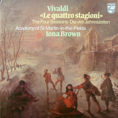 Vivaldi, Iona Brown, Academy Of St. Martin-In-The-Fields - 1980 - Le Quattro Stagioni