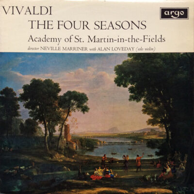 Vivaldi, Academy Of St. Martin-in-the-Fields, Neville Marriner With Alan Loveday -1970 - The Four Seasons