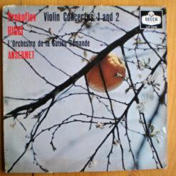 Prokofiev - Ruggiero Ricci, L'Orchestre De La Suisse Romande, Ernest Ansermet - 1958 - Violin Concertos 1 And 2