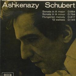 Ashkenazy, Schubert - 1968 - Piano Works